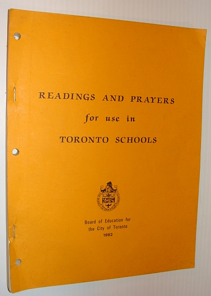 Image for Readings and Prayers for Use in Toronto Schools