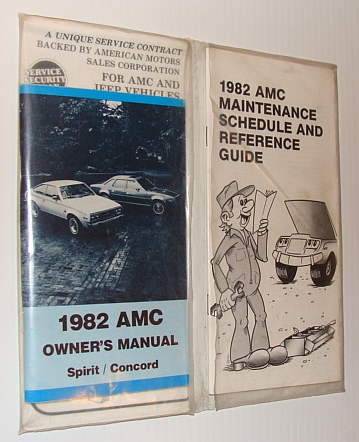 Image for 1982 AMC Spirit / Concord Owner's Manual
