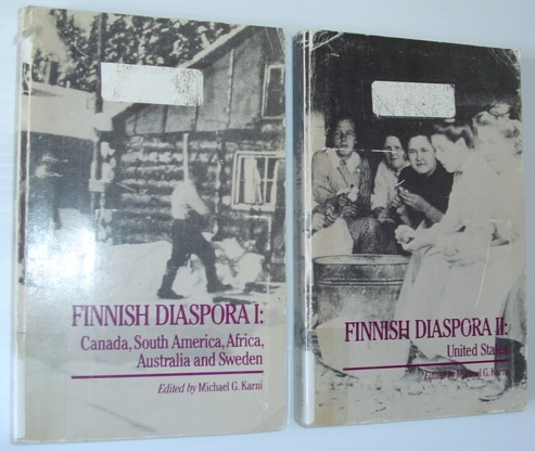 Image for Finnish Diaspora (2 vol set)