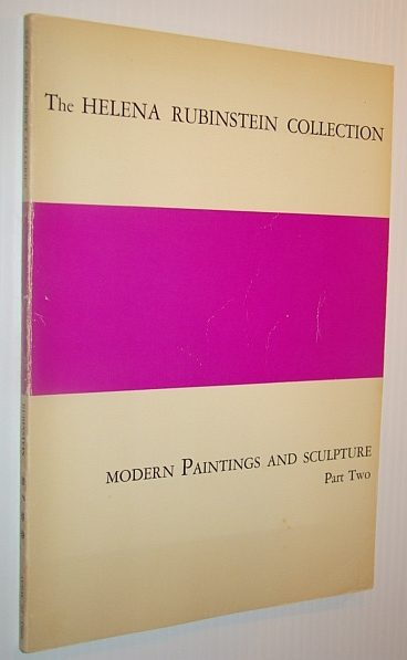 Image for The Helena Rubinstein Collection - Modern Paintings and Sculpture, Part Two (2) - Parke-Bernet Galleries Inc. Sale Number 2431, April 27th, 1966