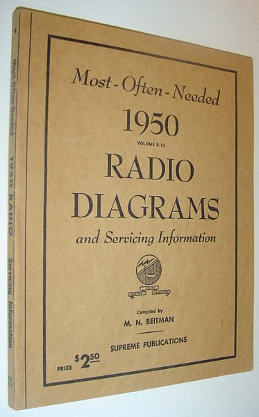 Image for Most-Often-Needed 1950 Radio Diagrams and Servicing Information, Volume R-10