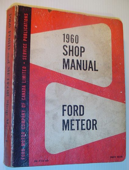 Image for 1960 Ford and Meteor Shop Manual - SE-715-60