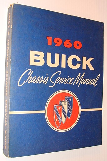 Image for 1960 Buick Chassis Service Manual