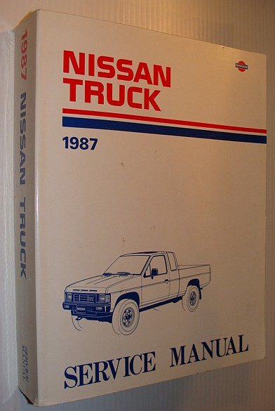 Image for 1987 Nissan Truck Service General