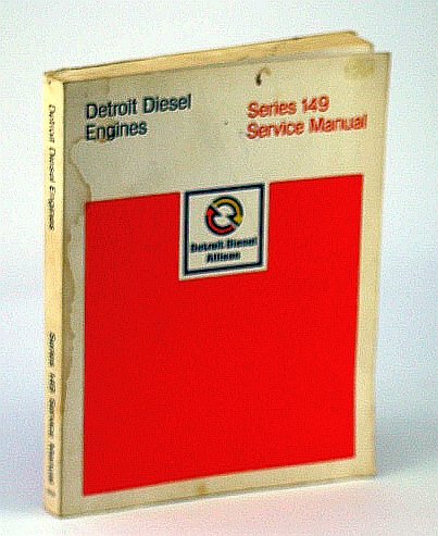 Image for Detroit diesel engines, series 149 : service manual.
