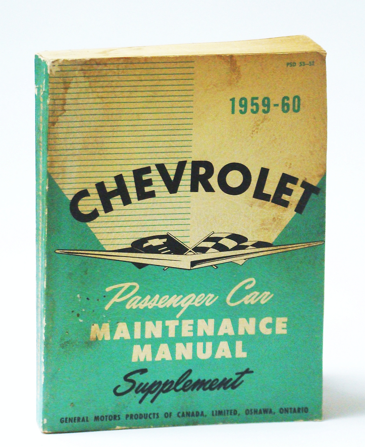 Image for Chevrolet 1959-60 (1960) Passenger Car Maintenance Manual Supplement (PSD 53-52)
