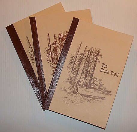 Image for The Home Trail: Volumes One, Two and Three (1, 2 3) - Memories of the Central North Thompson Valley, British Columbia (B.C.)