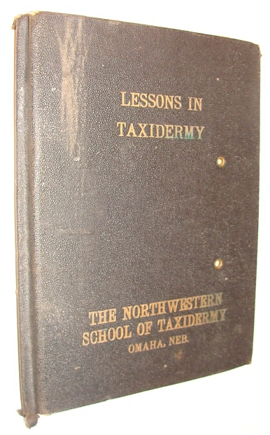 Image for Lessons in Taxidermy: A Comprehensive Treatise on Collecting and Preserving All Subjects of Natural History