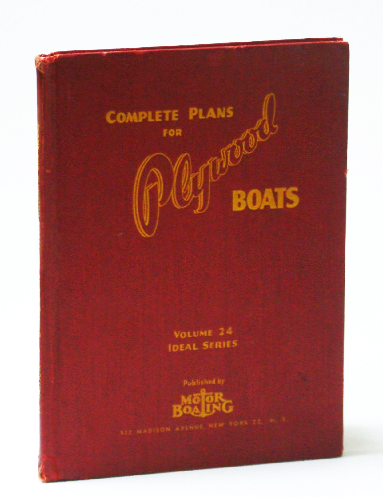 Image for Plans for Plywood Boats, Volume 24, Ideal Series