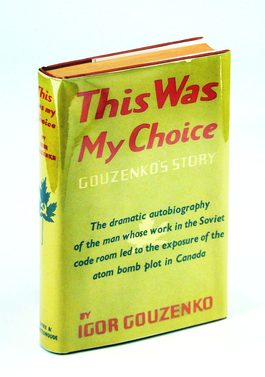Image for This was my choice: Gouzenko's story