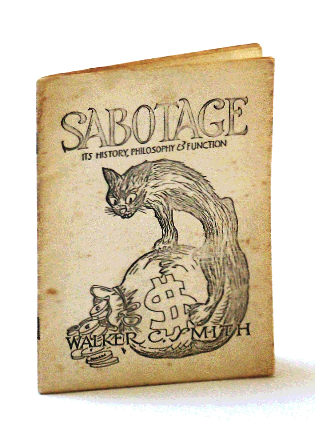 Image for Sabotage: It's History, Philosophy & Function