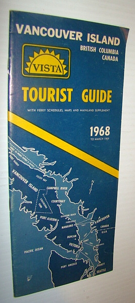 Image for 1968 Vancouver Island Tourist Guide