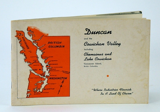Image for Duncan (B.C. / British Columbia) and the Cowichan Valley Including Chemainus and Lake Cowichan, Vancouver Island - Promotional Booklet