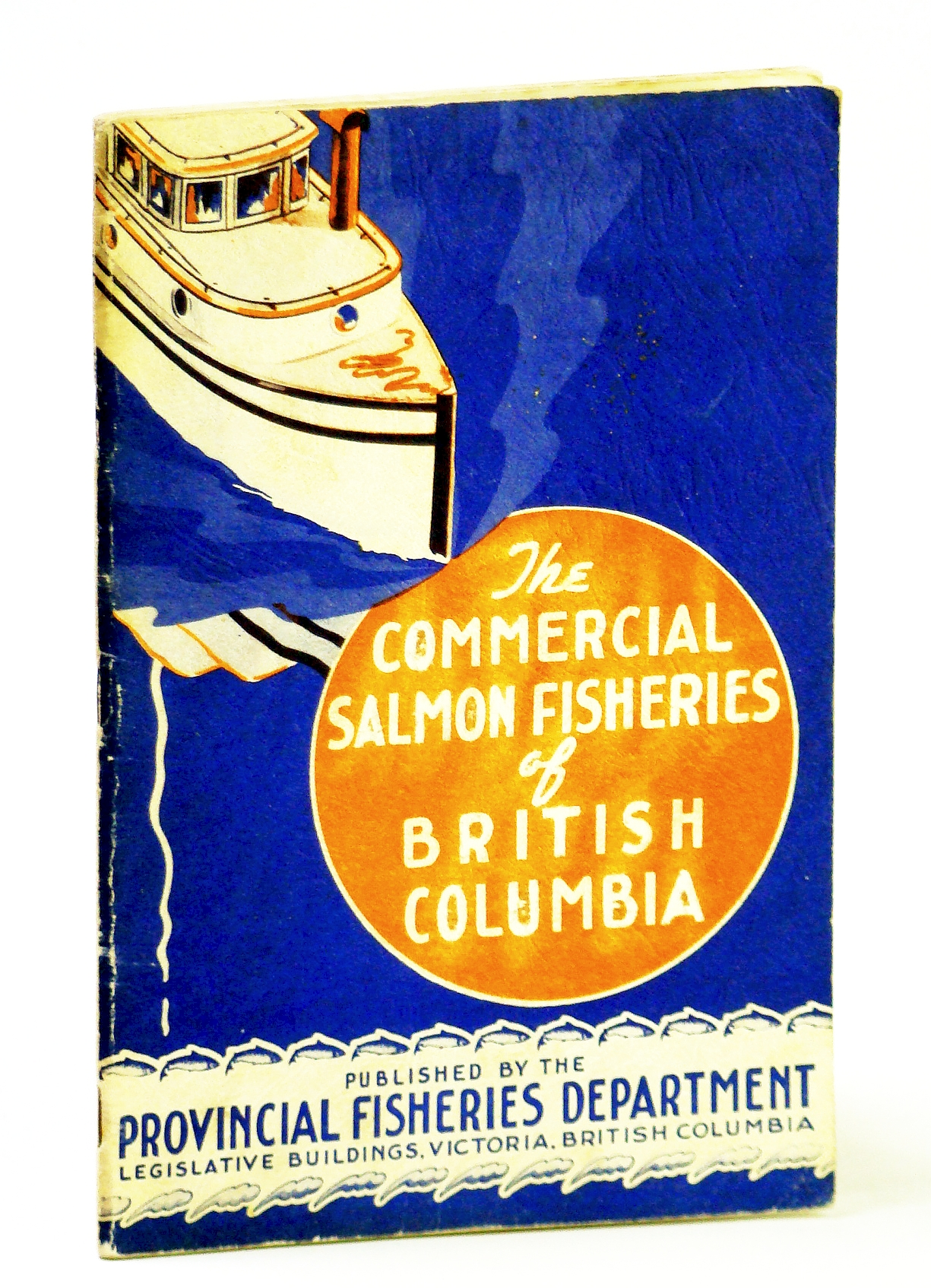 Image for The Commercial Salmon-Fisheries of British Columbia