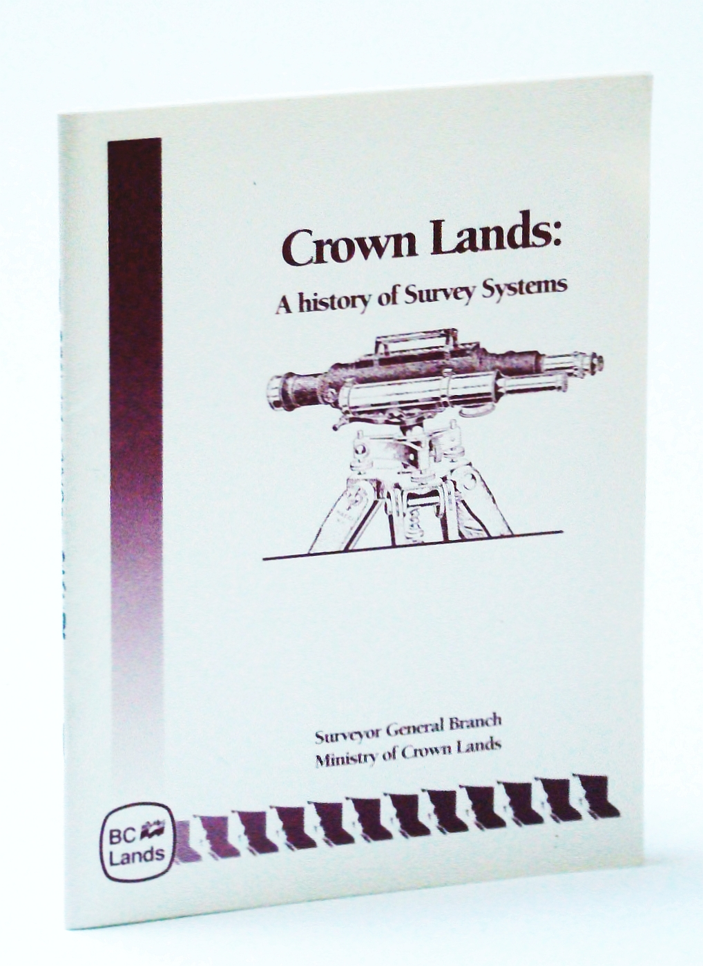 Image for Crown Lands: A History of Survey Systems