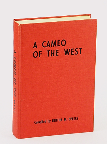 Image for A cameo of the West; a story of the pioneers of the present Namao School District, no. 24.