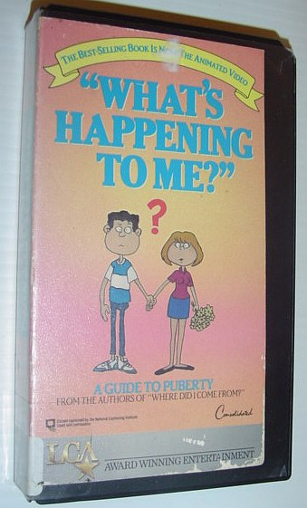 "Image for ""What's Happening to Me?"" - A Guide to Puberty: 30 Minute VHS Video"