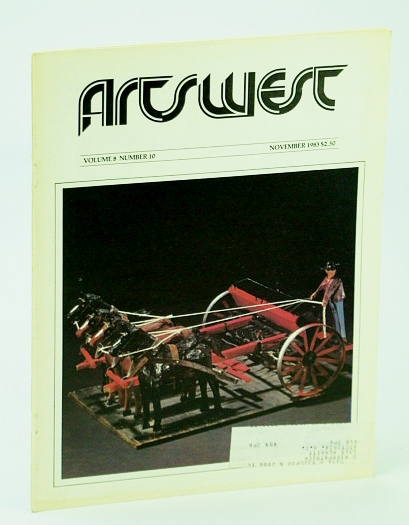 Image for Arts West Magazine, Volume 8, Number 10, November (Nov.) 1983 -  Canadian Woman Artists 1914-45
