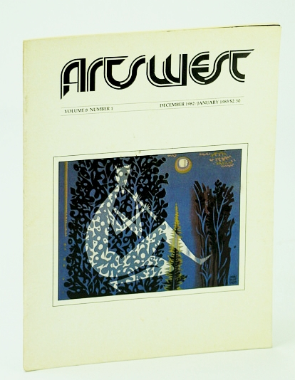 Image for Arts West Magazine, Volume 8, Number 1, January (Jan.) 1983 -  Wolfleg / Vancouver Prints