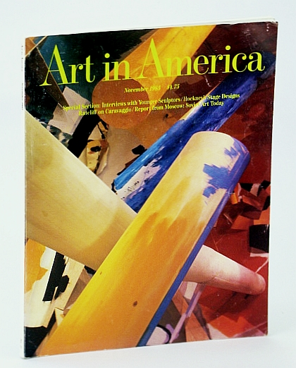 Image for Art in America Magazine, November (Nov.) 1985 - Interviews with Younger Sculptors