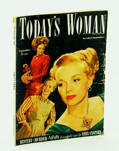 Image for Today's Woman - The Magazine for Today's Homemaker, September (Sept.) 1947 - Mary Augusta Rodgers