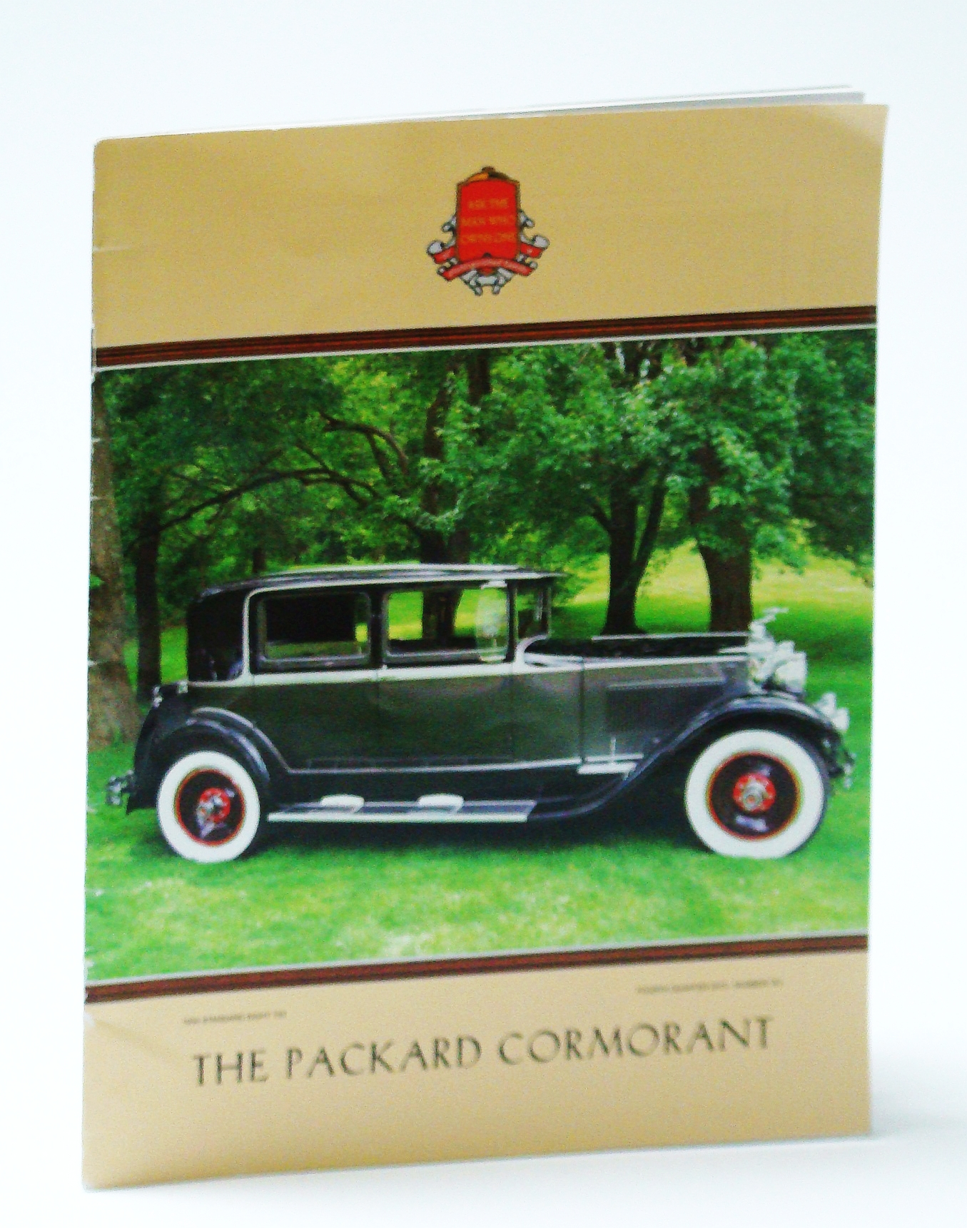 Image for The Packard Cormorant, Fourth (4th) Quarter 2015 - The International Magazine of Packard Automobile Classics, Number 161 - 1930 Standard Eight 733 Cover Photo