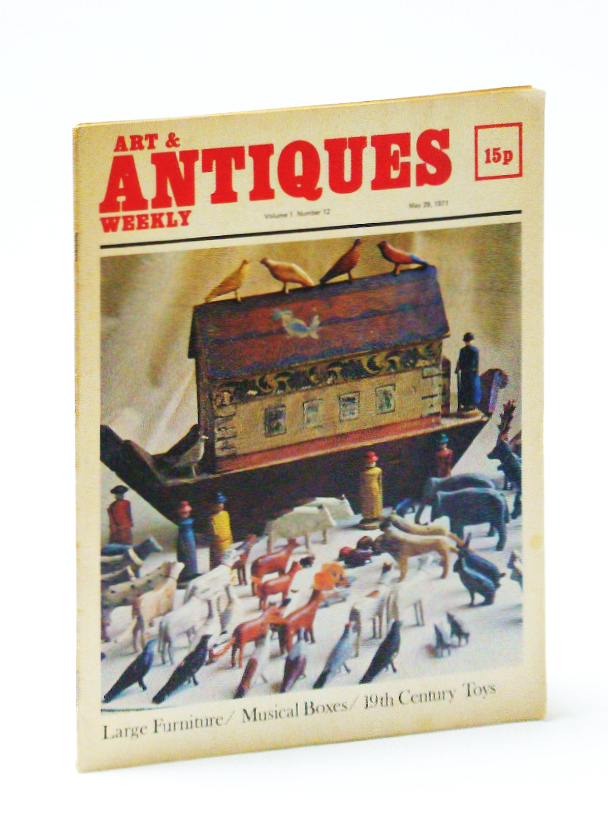 Image for Art & (and) Antiques Weekly, May 29, 1971: Musical Boxes / 19th Century Toys