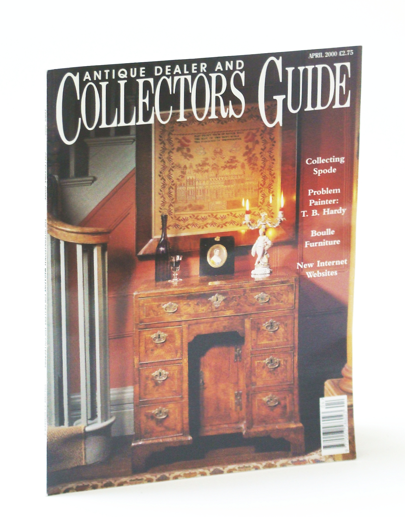 Image for Antique Dealer and Collectors Guide Magazine, April (Apr.) 2000 - Buhl in Bath and Boulle Abroad / Major Spode Sale