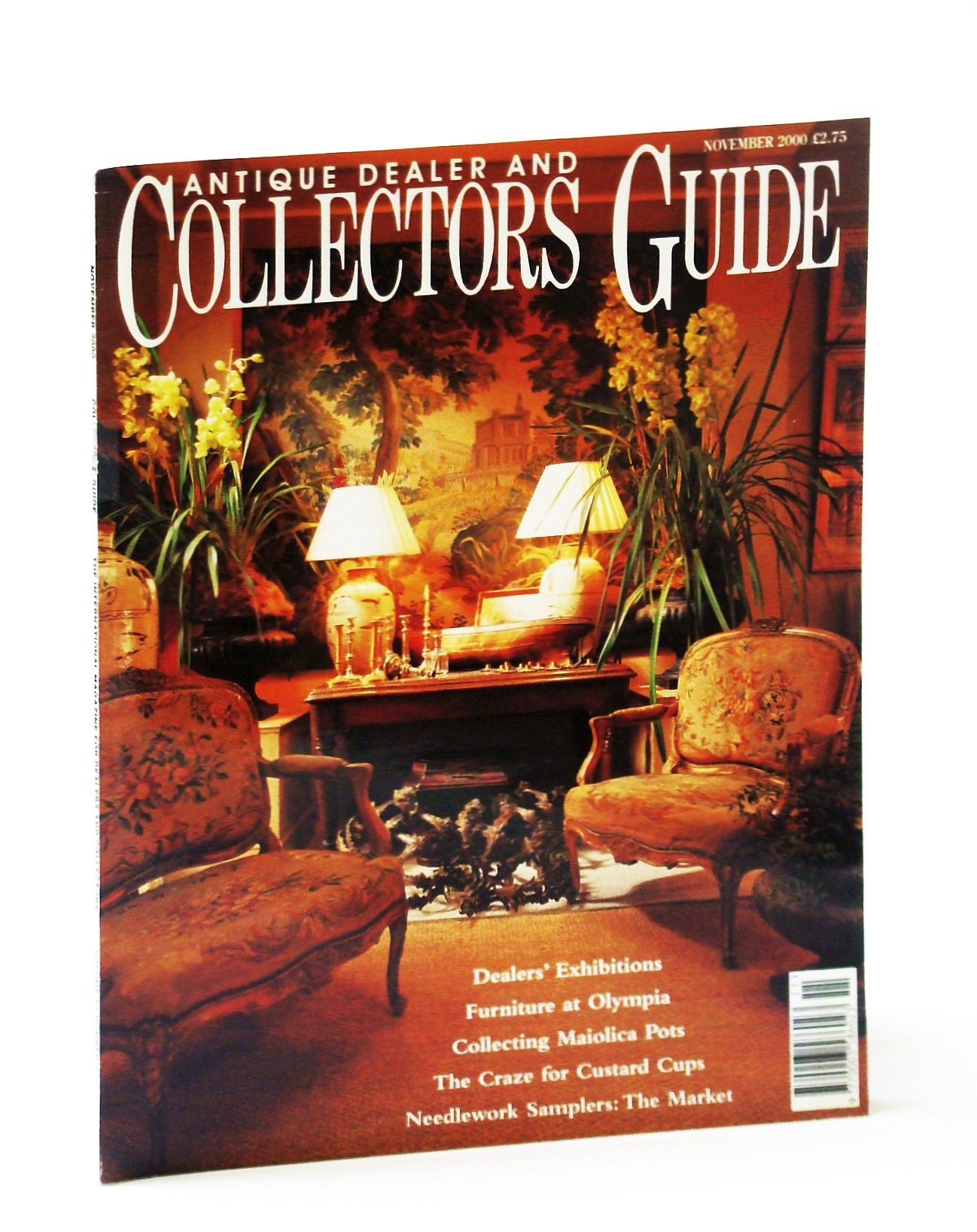 Image for Antique Dealer and Collectors Guide Magazine, November (Nov.) 2000 - The Ruskin Pottery 1920-1933