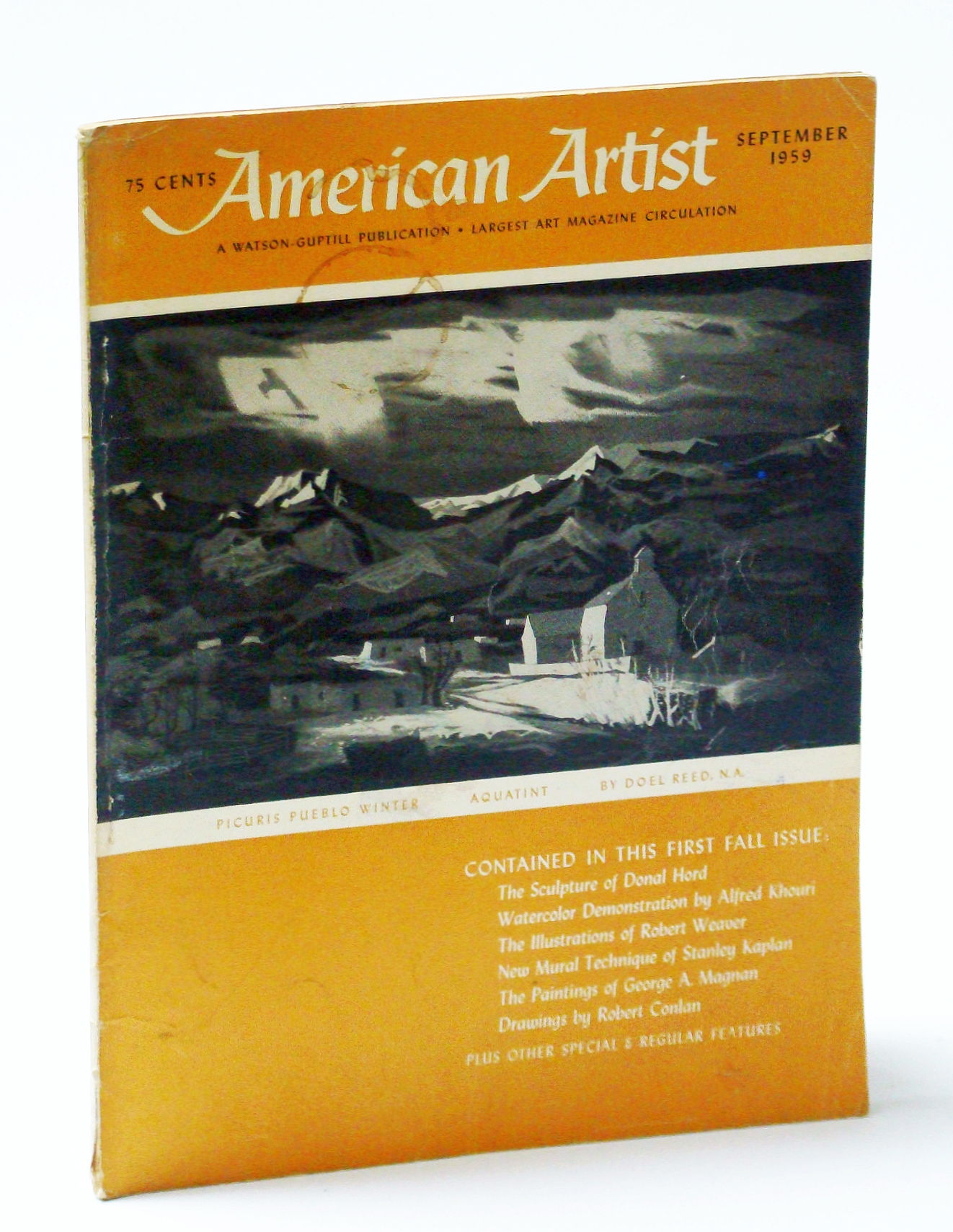 Image for American Artist Magazine, September (Sept.) 1959 - George A. Magnan / Realism of Robert Weaver