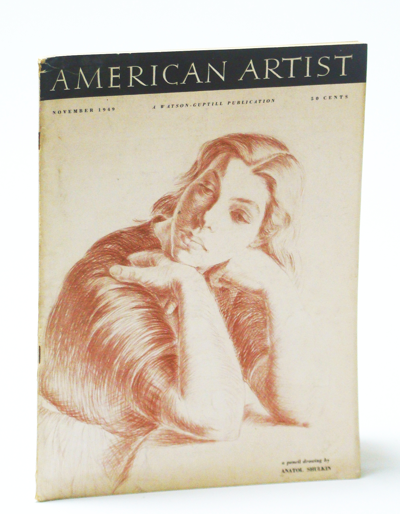Image for American Artist Magazine, November (Nov.) 1949 - Elmer Jacobs / Leslie Saalburg