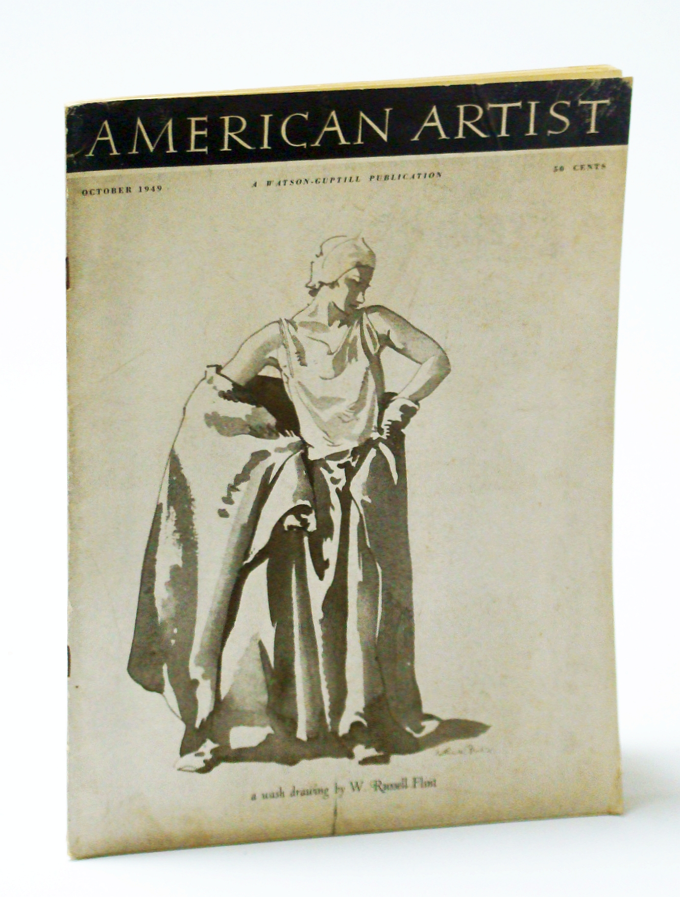 Image for American Artist Magazine, October (Oct.) 1949 - Keith Shaw Williams / Serigraphy