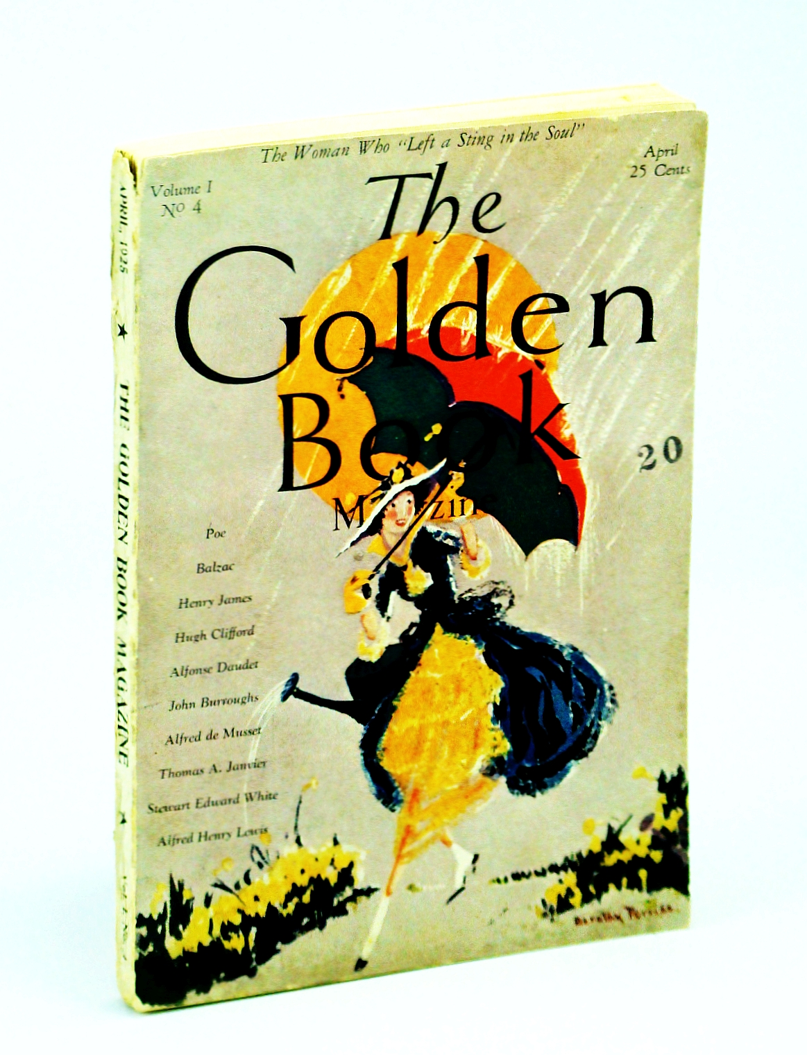 Image for The Golden Book Magazine-April 1925-Volume I, No. 4