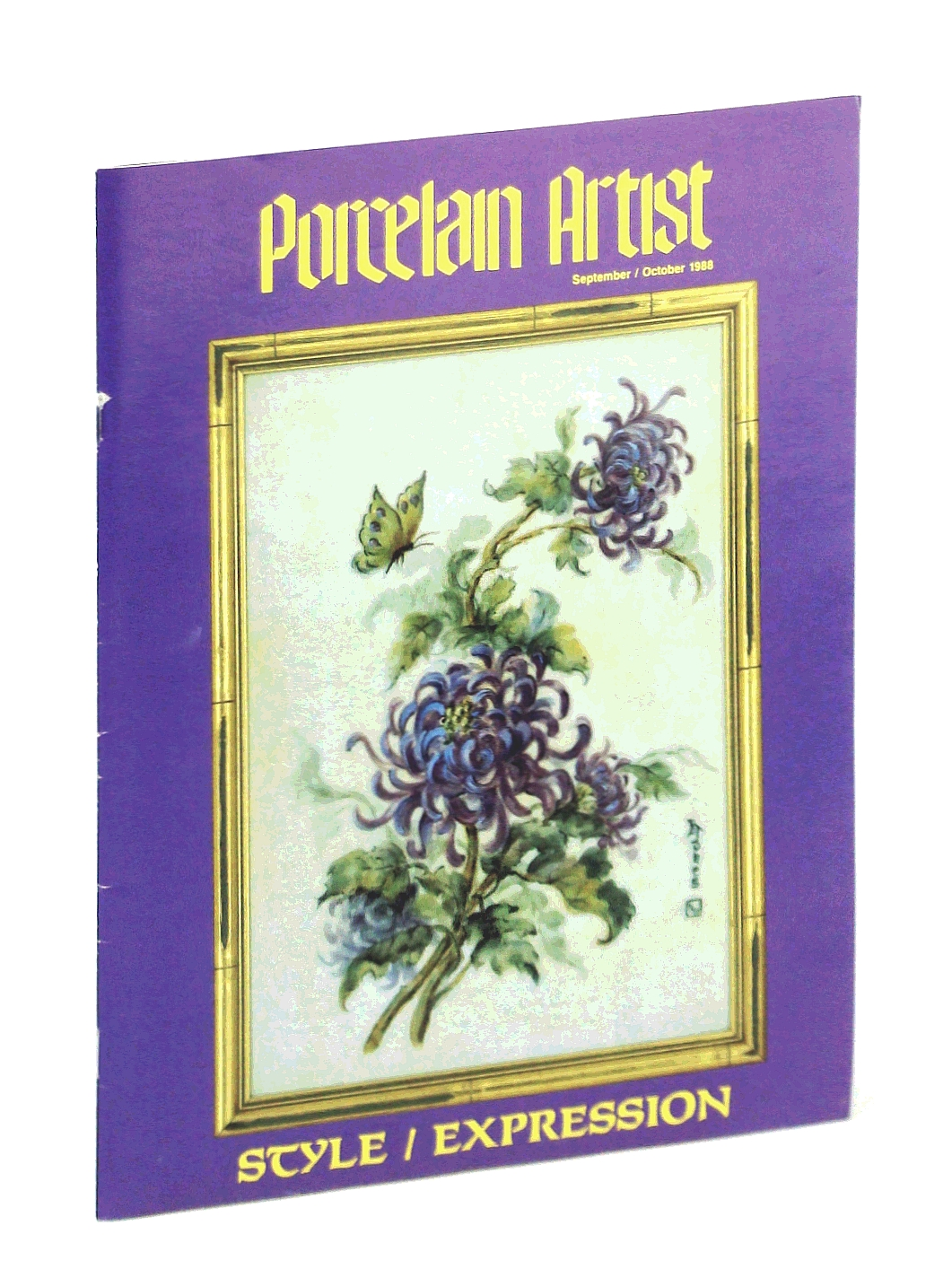 Image for Porcelain Artist [Magazine] September / October [Sept. / Oct.] 1988: Style / Expression