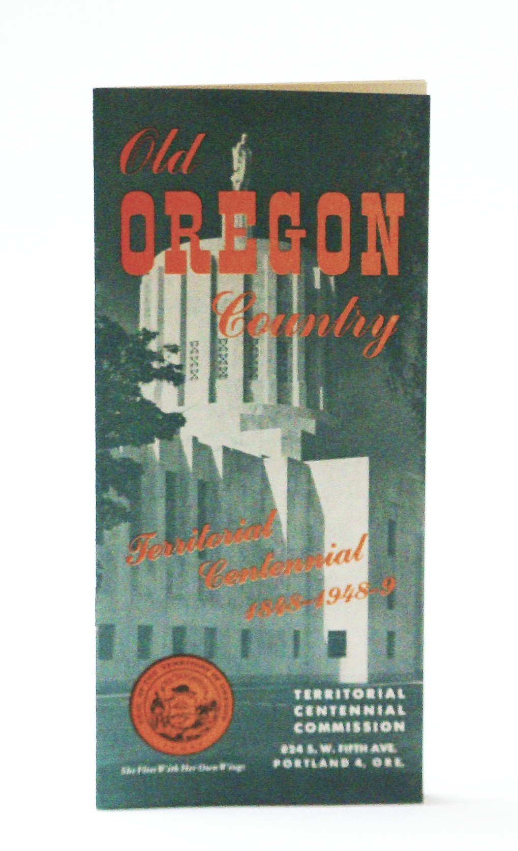 Image for Old Oregon Country - Territorial Centennial 1848-1948/9