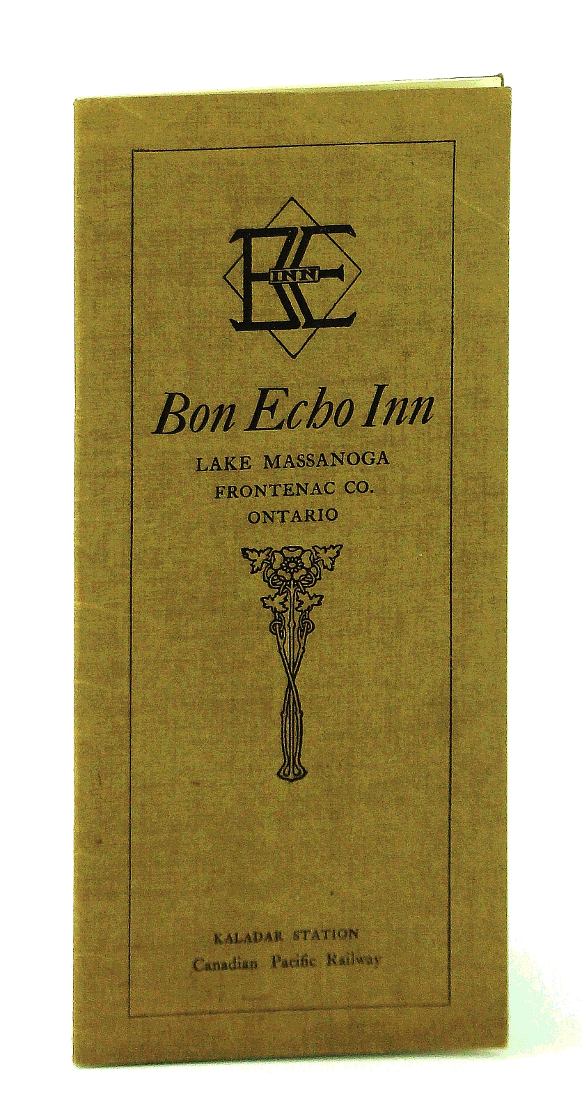 Image for Bon Echo Inn, Lake Massanoga, Frontenac Co. [County], Ontario - Vintage Promotional Brochure for This Famed Ontario Highlands Summer Resort