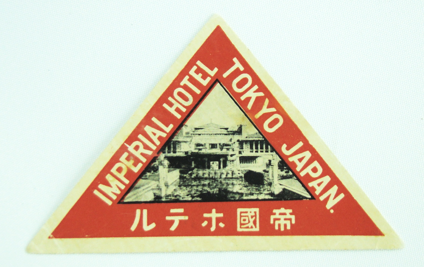 Image for Luggage Label - Imperial Hotel, Tokyo, Japan