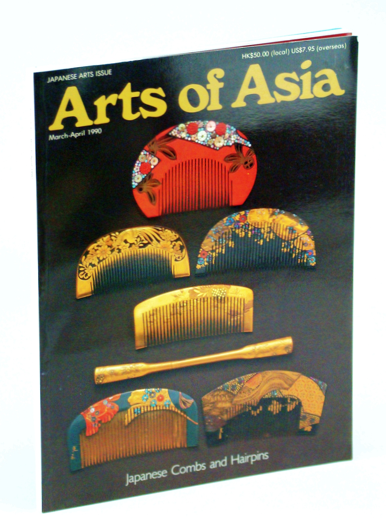 Image for ARTS OF ASIA [JAPANESE COMBS, NETSUKE, CERAMICS, WAGASHI] / March-April 1990 / Volume XX, Number 2