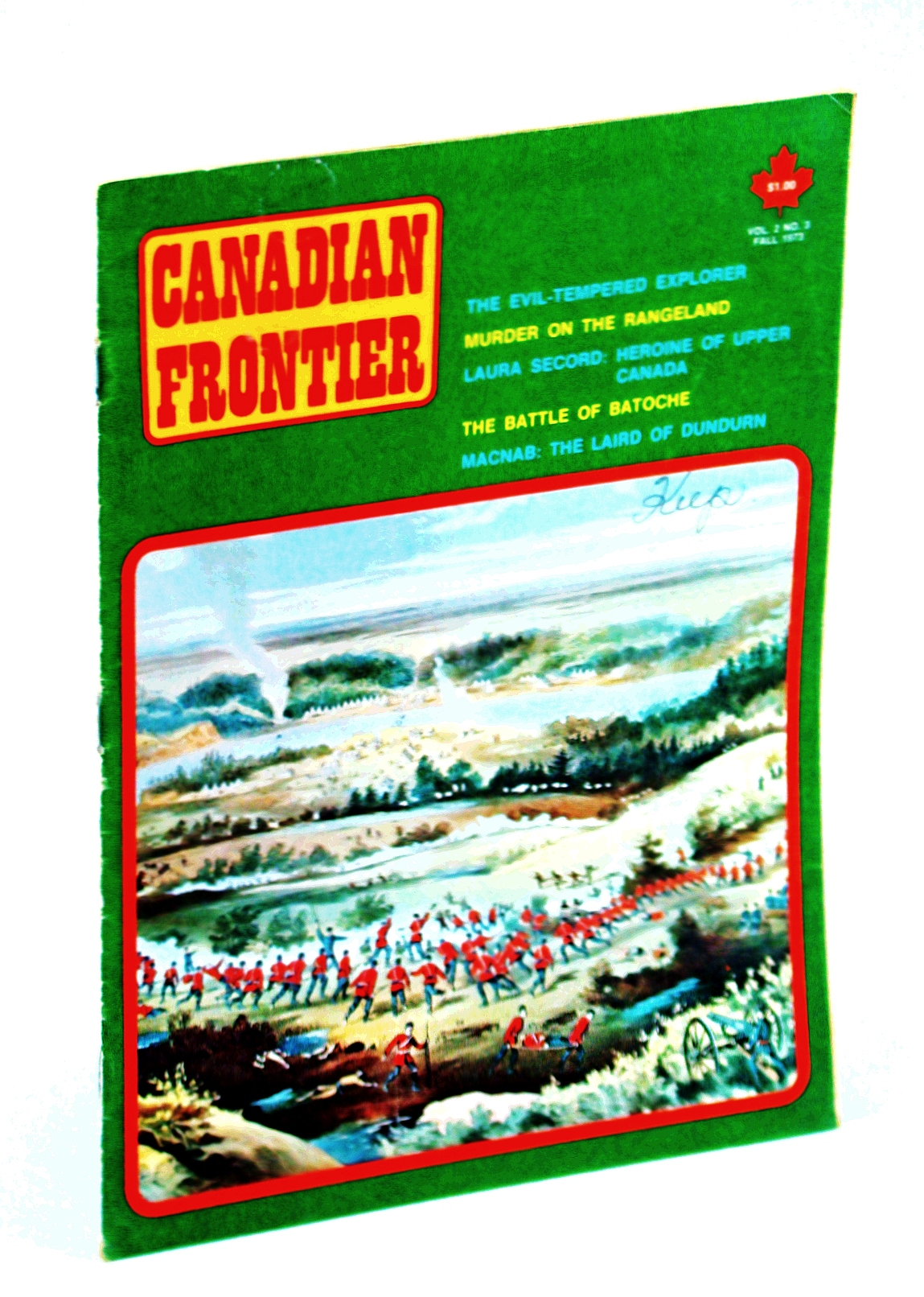 Image for Canadian Frontier Magazine Volume 2 No. 3 Fall 1973
