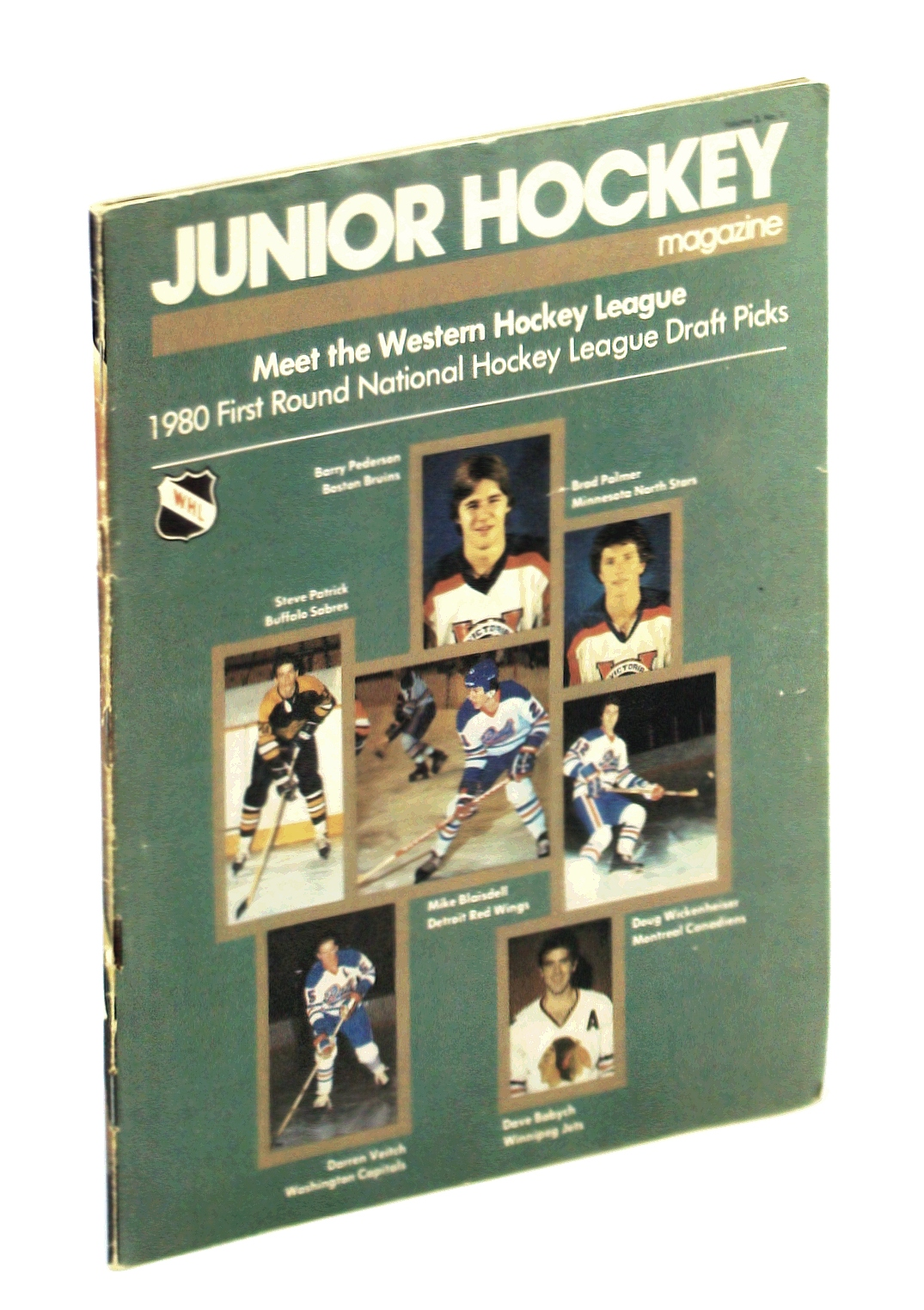 Image for Junior Hockey Magazine, September - October 1980, Volume 3, No. 1: Cover Photos of 1980 NHL First Round Picks From the WHL