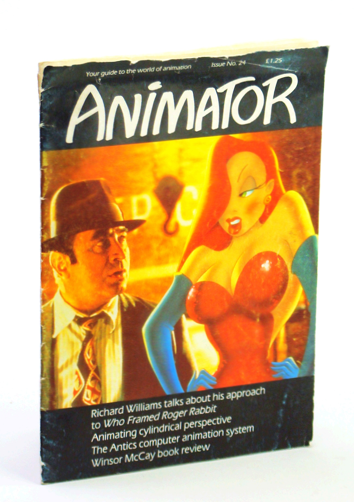 "Image for Animator [Magazine] - Your Guide to the World of Animation, Issue No. 24, December 1988 - Richard Williams and ""Who Framed Roger Rabbit"""