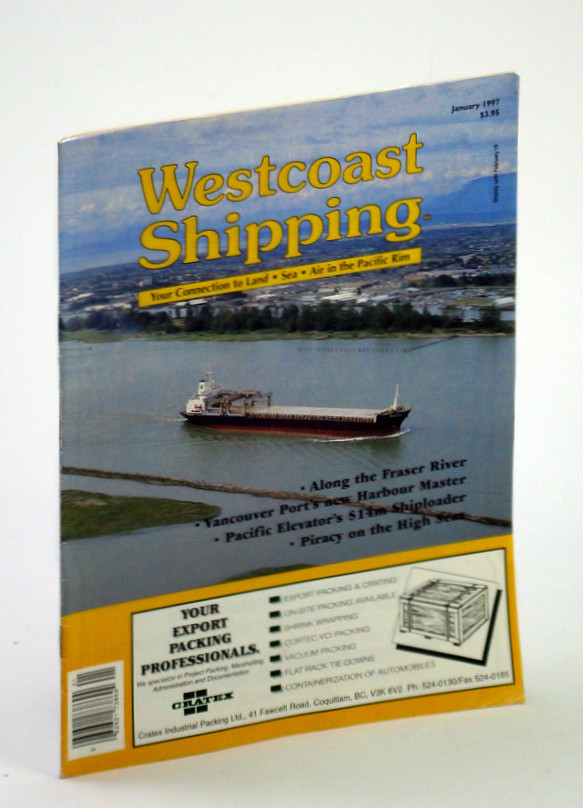 Image for Westcoast Shipping [Magazine] - Your Connection to Land, Sea, Air in the Pacific Rim, January 1997