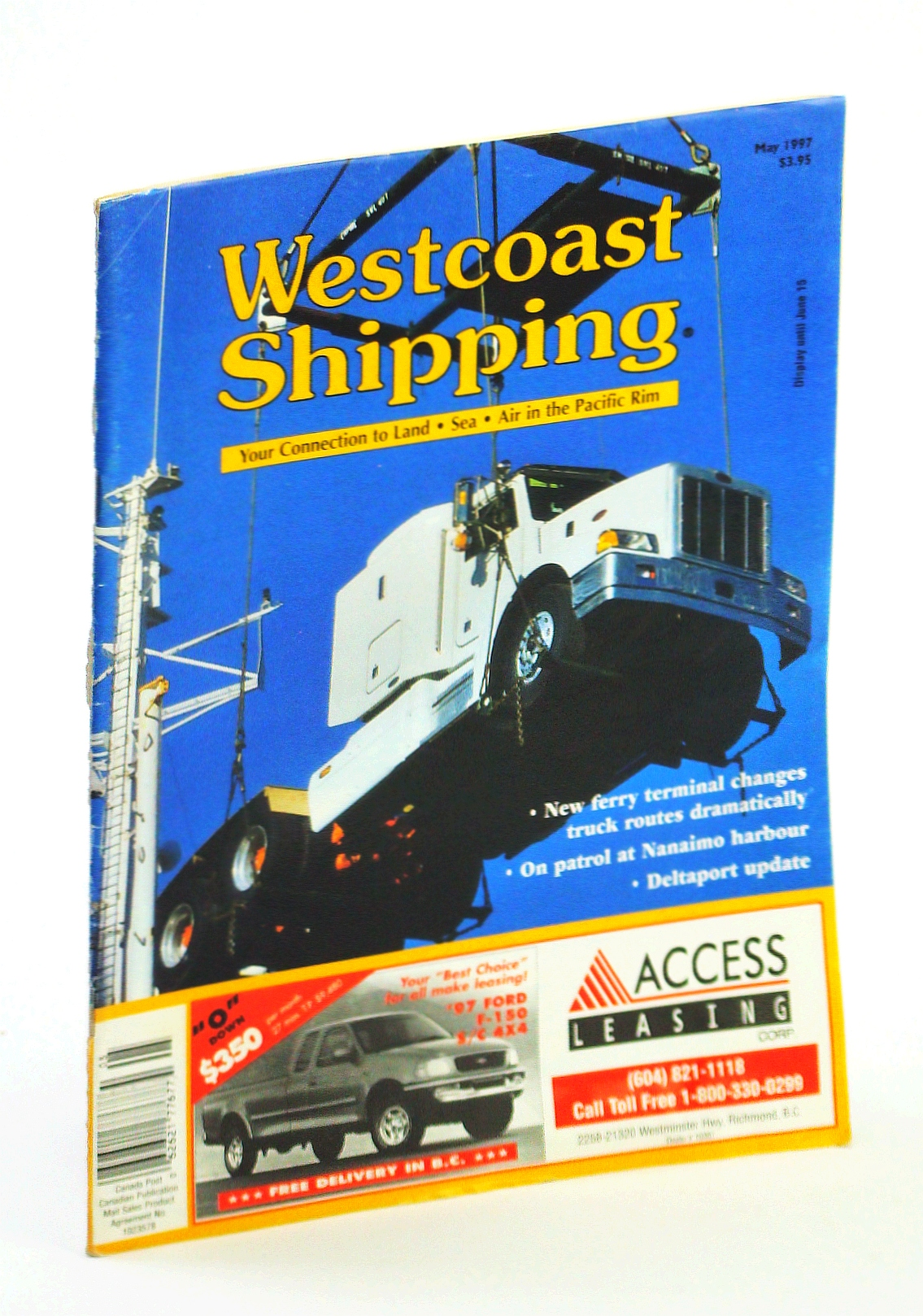 Image for Westcoast Shipping [Magazine] - Your Connection to Land, Sea, Air in the Pacific Rim, May 1997