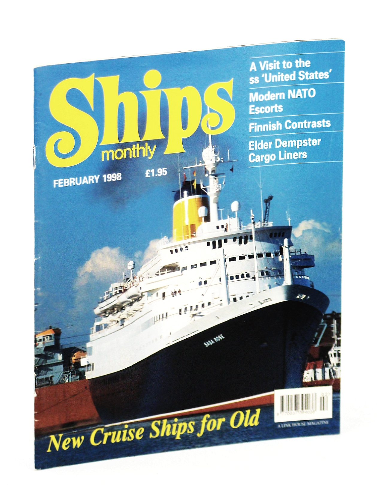 Image for Ships Monthly - The International Magazine for Shiplovers Ashore and Afloat: February 1998