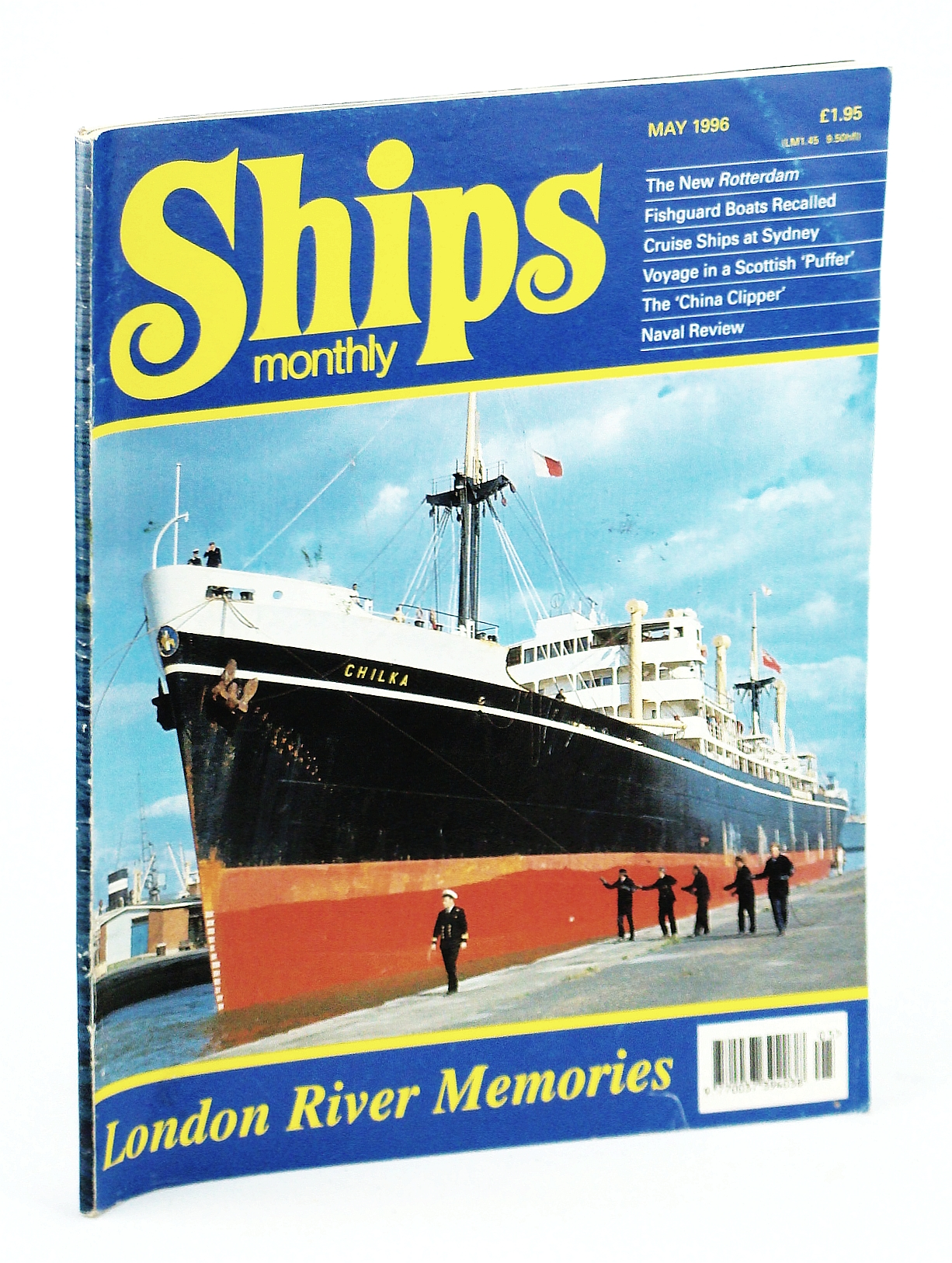 Image for Ships Monthly - The International Magazine for Shiplovers Ashore and Afloat: May 1996