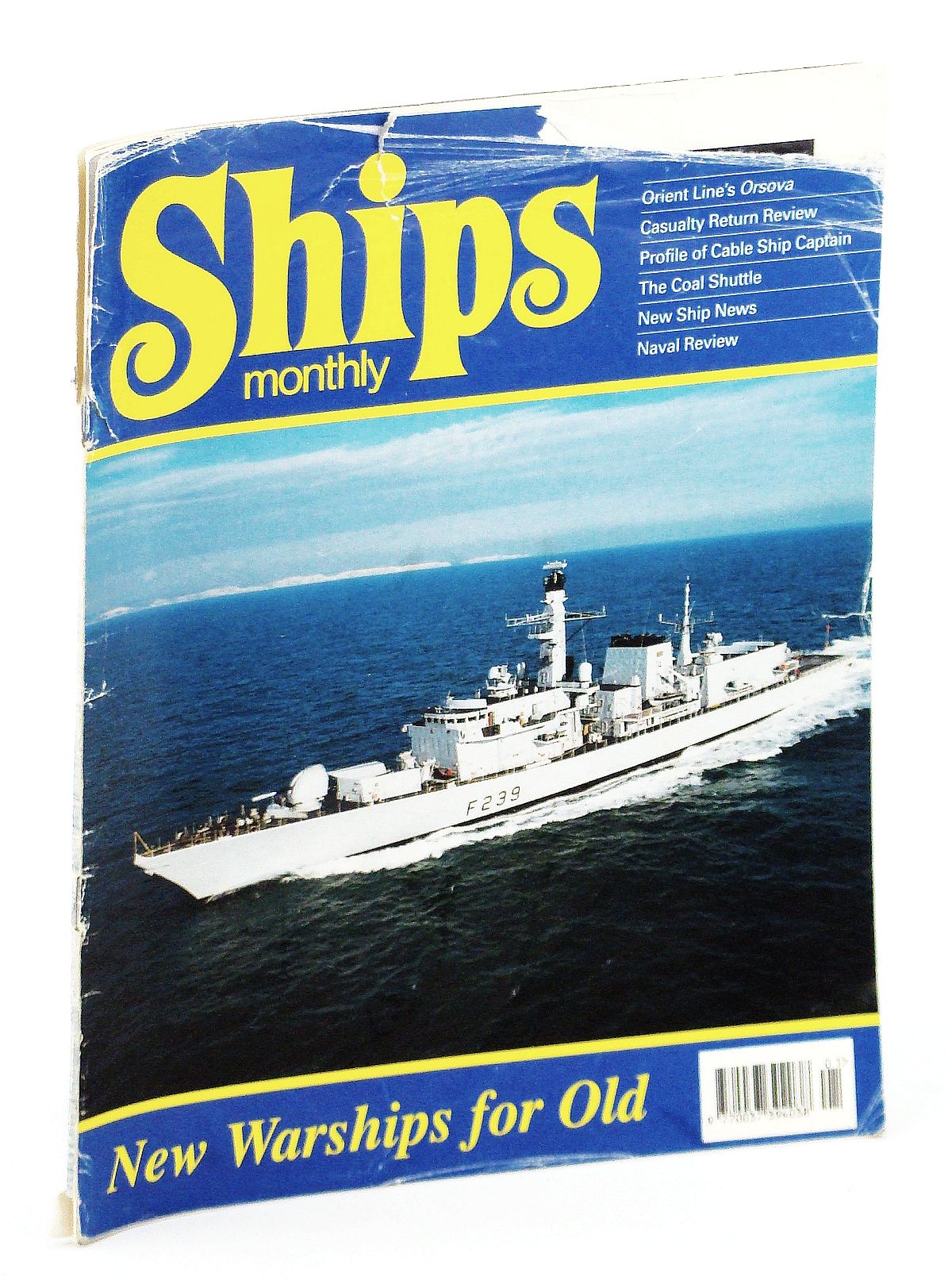 Image for Ships Monthly - The International Magazine for Shiplovers Ashore and Afloat: January 1996