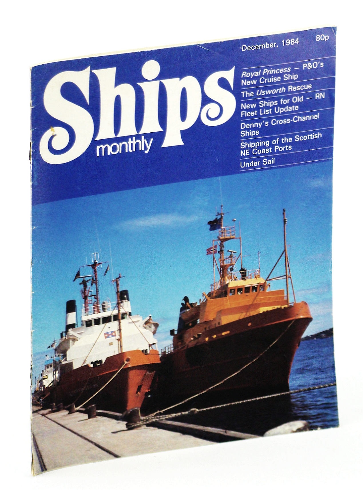 "Image for Ships Monthly - The Magazine for Shiplovers Ashore and Afloat, December 1984 - Construction of the ""Royal Princess"""
