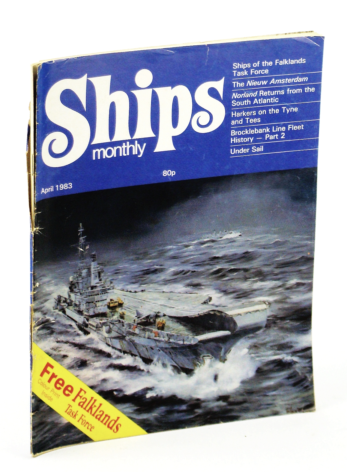 Image for Ships Monthly - The Magazine for Shiplovers Ashore and Afloat, April 1983 - The Nieuw Amsterdam