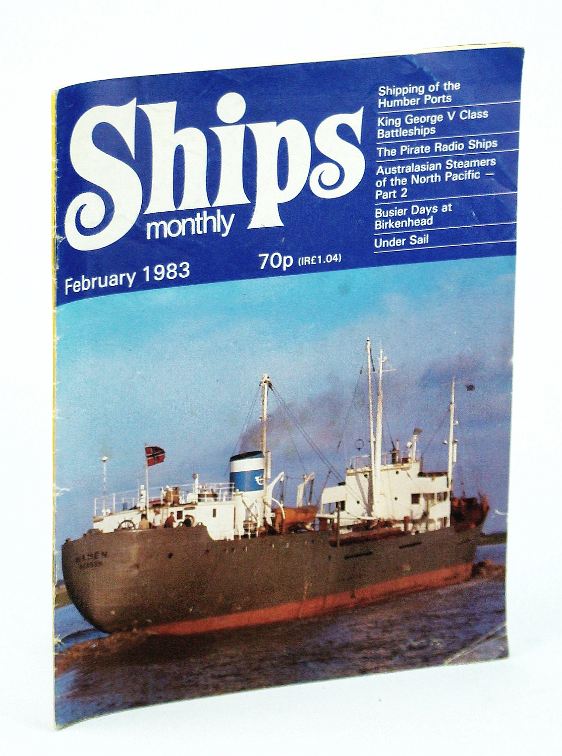 Image for Ships Monthly - The Magazine for Shiplovers Ashore and Afloat, February 1983 - The Pirate Radio Ships