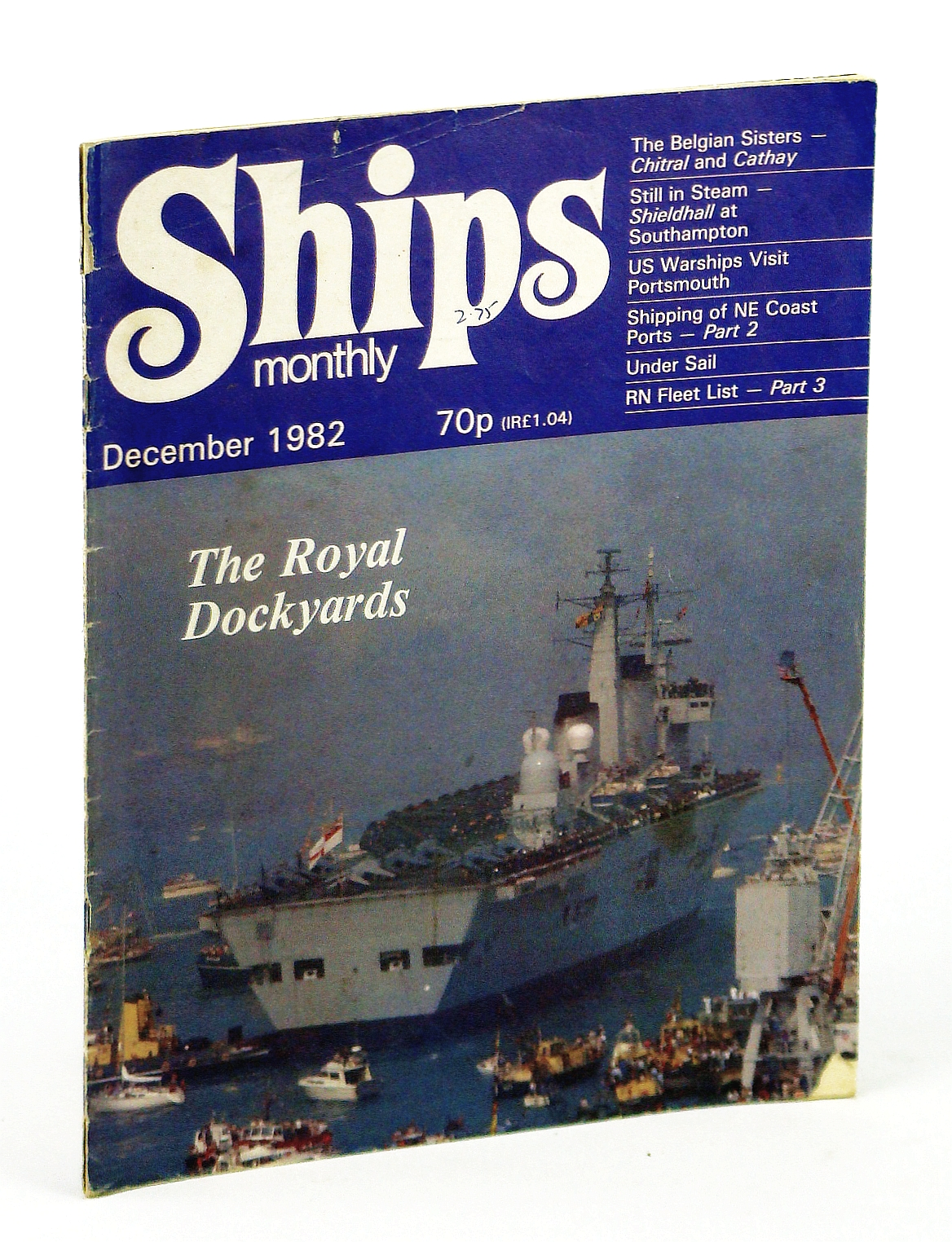 Image for Ships Monthly - The Magazine for Shiplovers Ashore and Afloat, December 1982 - Tyne Tugs of Yesteryear